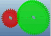 CREATE SPUR GEAR CONNECTION